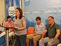 Belén Hoyo interviene en un acto con jóvenes en Valencia el 18 Junio 2011.jpg