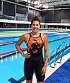 Belen diaz en la piscina olímpica de Parque Roca.jpg