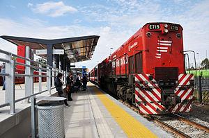 Ferrovías - Image: Belgrano norte 4