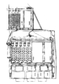 Belleville boiler, side (Stokers' Manual, 1912).png