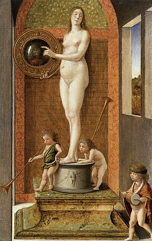 Allegories (Bellini) - The Prudence