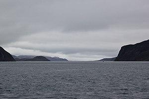 Bellot Strait - Bellot Strait, western end