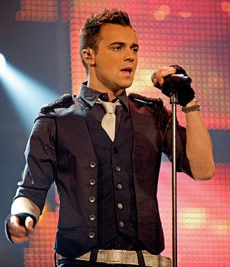 Ben Adams - Adams performing in Norway, 2010