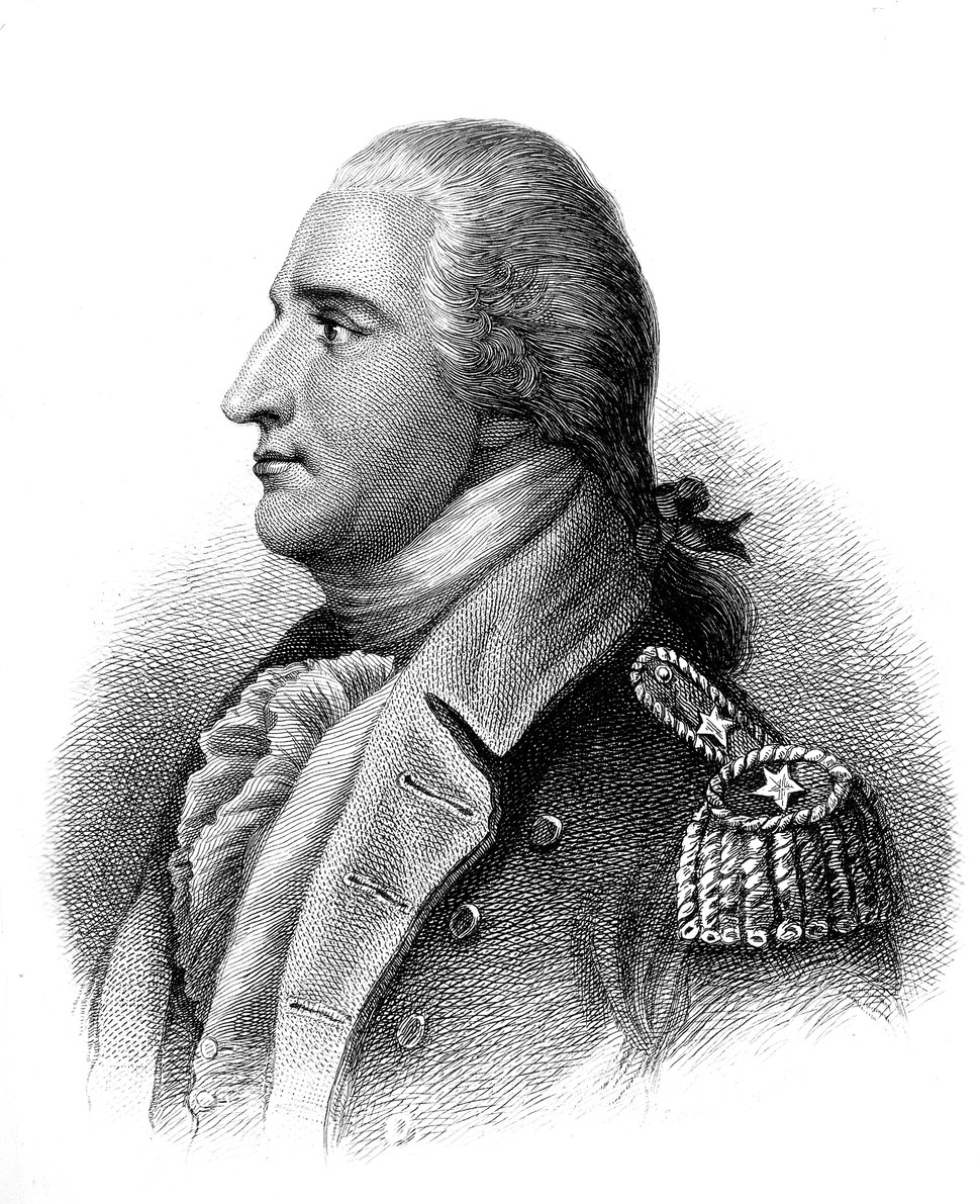 Benedict Arnold. Copy of engraving by H. B. Hall after John Trumbull, published 1879., 1931 - 1932 - NARA - 532921