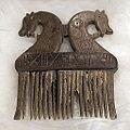 Benen kam met paardenhoofden uit de Schelde (750-900), Archeologisch Museum Hamme.JPG