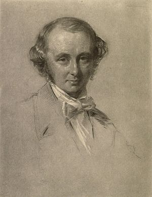 Benjamin Jowett - Benjamin Jowett, by George Richmond, 1854.