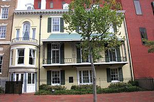 Benjamin Ogle Tayloe House - Front view