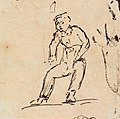 Benjamin Robert Haydon - Study of a Sitting Figure - B1977.14.2547 - Yale Center for British Art.jpg