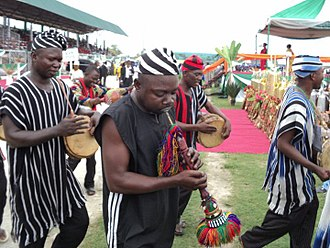 Benue State - Dancers in Benue state attire
