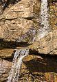 Bergtocht van Peio Paese naar Lago Covel (1,840 m) in het Nationaal park Stelvio (Italië). Waterval boven Lago Covel.jpg