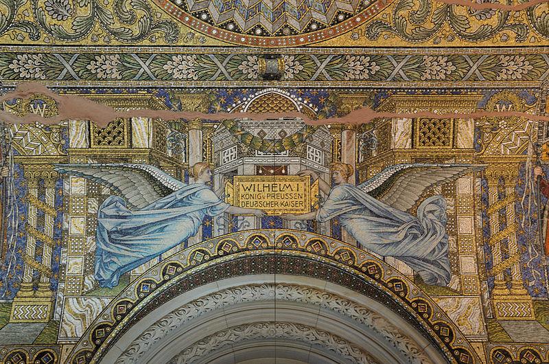 Mosaique de l'église originelle - Photo de Taxiarchos228