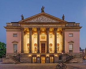 Staatsoper Unter Den Linden Wikipedia