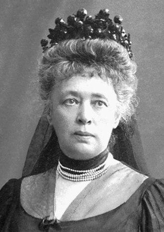 Bertha von Suttner - Image: Bertha von Suttner nobel