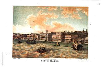 Beşiktaş - Beşiktaş around 1850