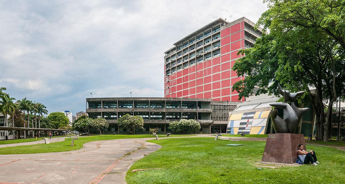 Ciudad universitaria de caracas wikipedia la for Arquitectura universidades