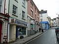 Bideford's steep High Street - geograph.org.uk - 1009476.jpg