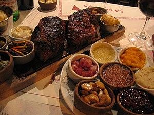 Argentine beef - Argentine bife de chorizo.