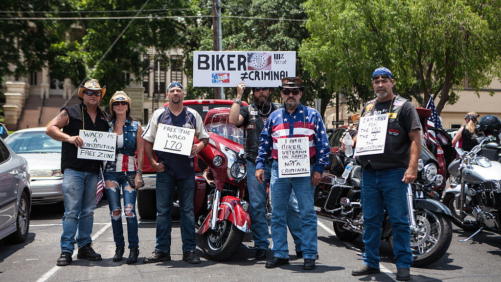 File:Bikers supporting Twin Peaks Waco Bikers that are ...