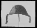 Bikorn återgående på armens m, från 1830-talet, till sorglivré för pukslagare - Livrustkammaren - 27840.tif