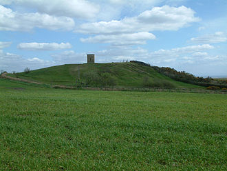 Billinge Hill - Billinge Hill with its summit tower