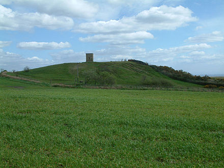 Billinge Hill is the highest point in St Helens and Merseyside