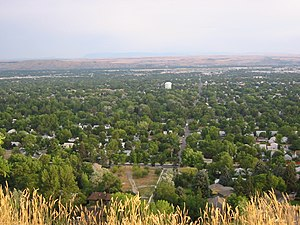 View of Billings, MT, from the Rims.