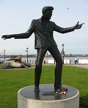 Billy Fury - Statue by Tom Murphy, Albert Dock, Liverpool