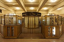The large newsstand in the Biltmore Room