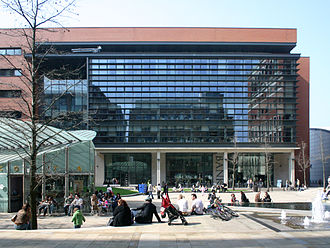 Economy of Birmingham - Modern offices at Brindleyplace.