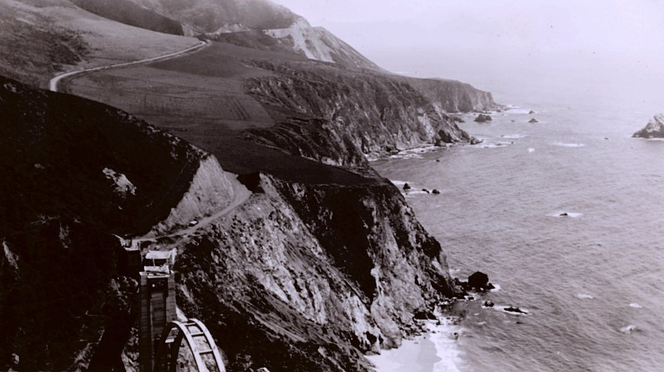 Bixby Creek Bridge 1932.