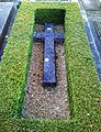 Bladon, Oxfordshire - St Martin's Church - churchyard, grave of Jennie Lady Randolph Churchill.jpg