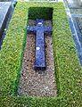 Bladon, Oxfordshire - St Martin's Church - churchyard, grave of Jennie Lady Randolph Churchill.jpg