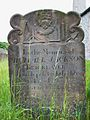 Blakeney, St Nicholas, bricklayer's gravestone.JPG