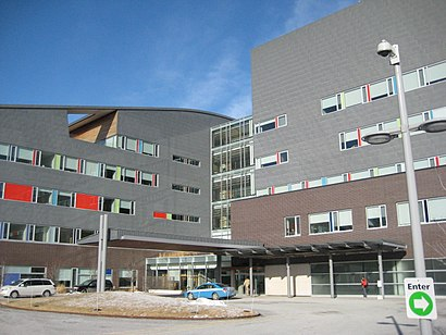 How to get to Bloorview Kids Rehab with public transit - About the place