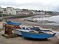Boats, on the foreshore, at Dawlish - geograph.org.uk - 1012871.jpg
