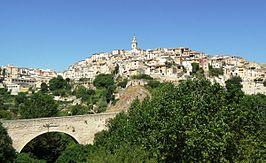 Vista de la villa antigua de Bocairente