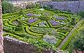 Bodysgallen Hall parterre garden, Wales - geograph.org.uk - 532234.jpg