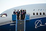 Boeing 787-10 rollout with President Trump (33109601676).jpg