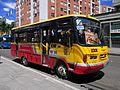 Bogotá Avenida carrera 13 calle 53 buseta en Bogotá.JPG