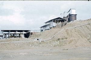 Bonanza, North Caribbean Coast Autonomous Region - Bonanza and Rosita Mine complex in the late 1950s