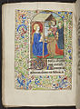 Book of Hours, f.63v, (184 x 133 mm), 15th century, Alexander Turnbull Library, MSR-02. (6046620213).jpg