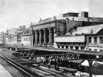 Bowery Theatre - Thalia Theatre, which was destroyed in 1929