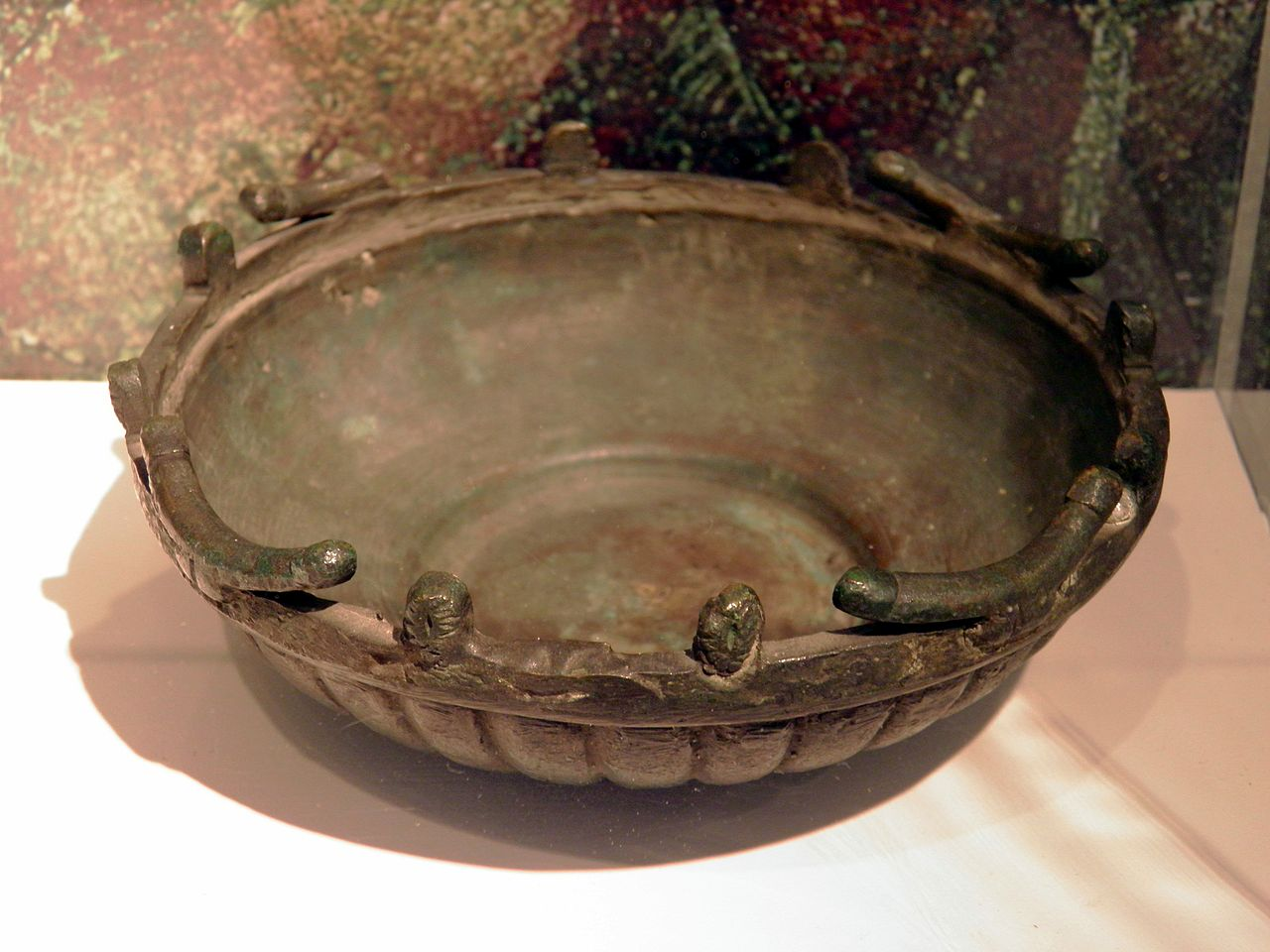 File Bowl Decorated With Male And Female Genitals