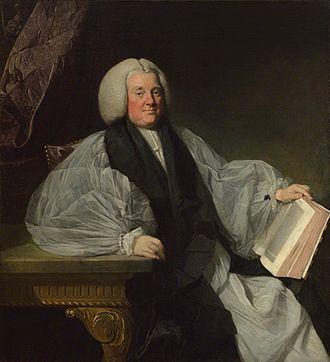 Edmund Keene - Bishop Keene, by Johan Zoffany, 1768