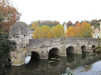 River Avon, Bristol - The Town Bridge at Bradford on Avon