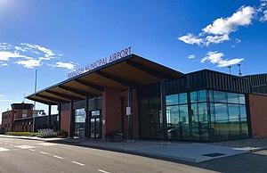 Brandon Municipal Airport - Image: Brandon Airport 2017