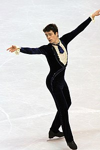 Brandon Mroz at the 2009 Skate America.jpg