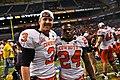 Brandon Weeden and Kendall Hunter.jpg