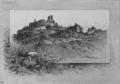 Brandys nad Orlici ruin 1886 Liebscher.png