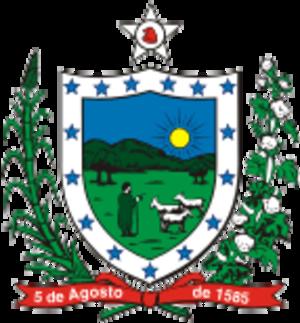 João Pessoa Cavalcanti de Albuquerque - Image: Brasao paraiba